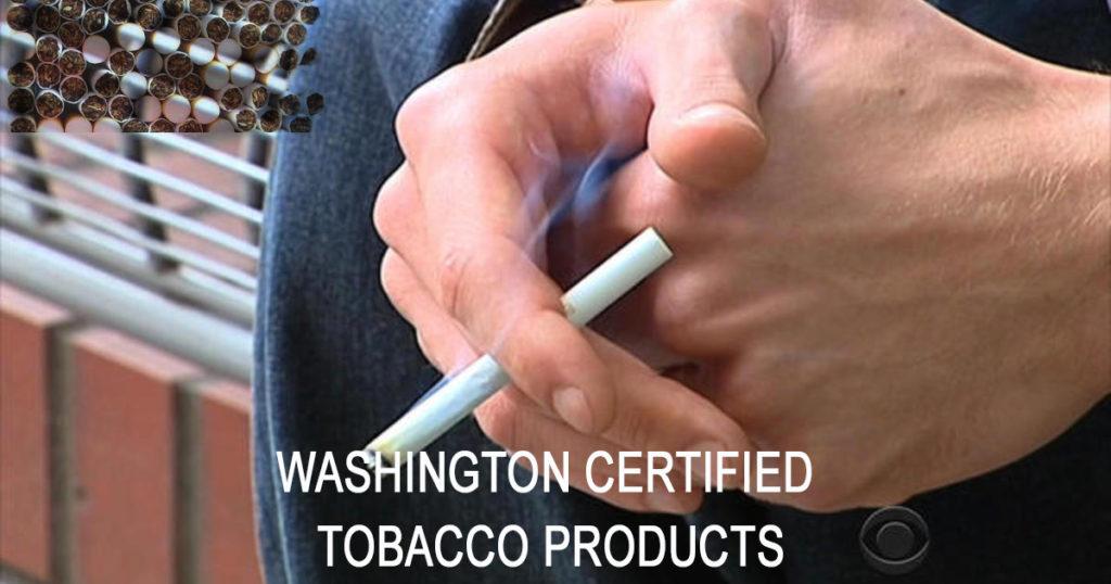 워싱턴주 로부터 허가된 담배 공급 업체(총 54 페이지)