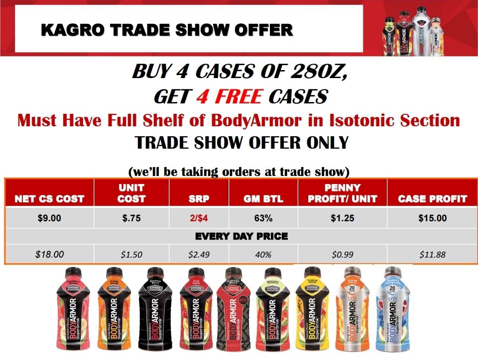 Body Armor – Trade Show