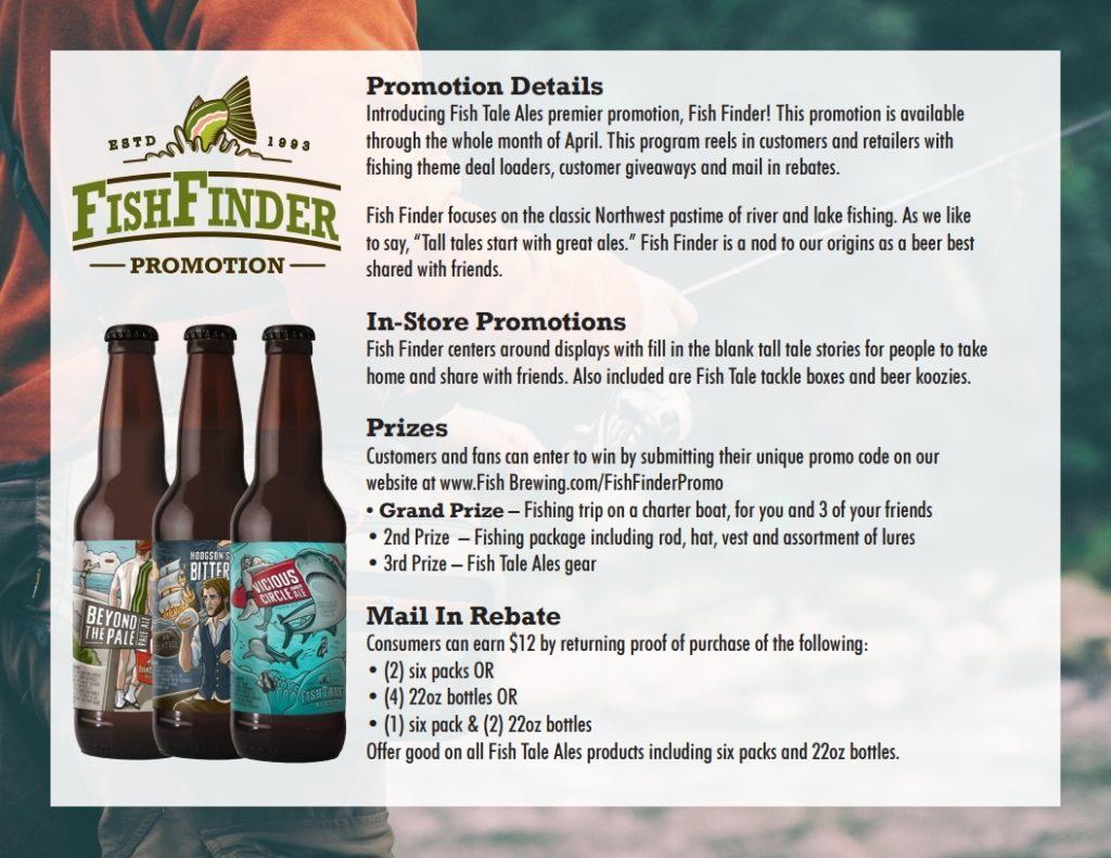 2018 – Fish Finder Promotion